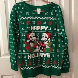 Disney Holiday Sweater Plus Size
